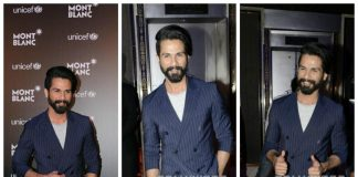 Shahid Kapoor talks about importance of education at Mont Blanc UNICEF event