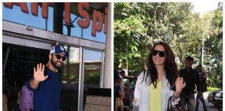 Arjun Kapoor and Shraddha Kapoor leave for Half Girlfriend promotions in Indore – Photos