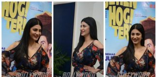 Shruti Haasan promotes Behen Hogi Teri in Delhi – Photos!
