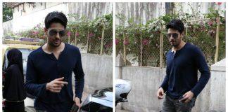 Stylish Sidharth Malhotra visits Matrix Film office