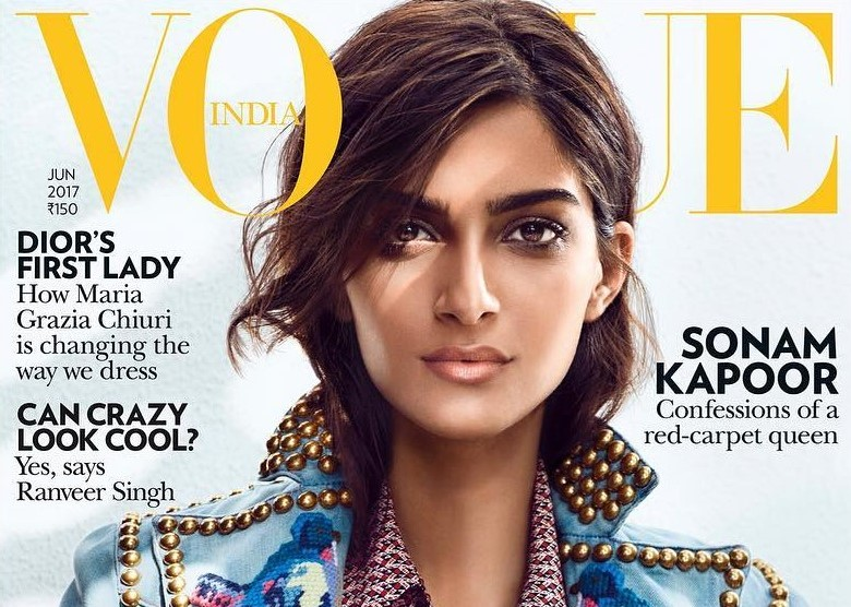 Sonam Kapoor dazzles on latest Vogue cover