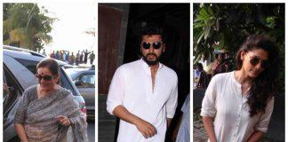 Photos – Bollywood celebrities at Sonam Kapoor's grandmother's prayer meeting