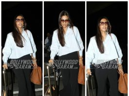 PHOTOS – Sonam Kapoor at Mumbai airport, leaves for Cannes Film Festival 2017!