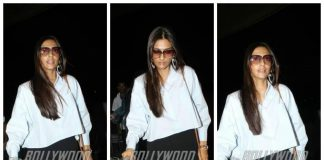 PHOTOS – Sonam Kapoor at Mumbai airport, leaves for Cannes Film Festival 2017!