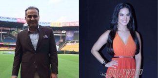 Virender Sehwag, Sunny Leone pair up for IPL commentary on Daredevils vs Sunriser!