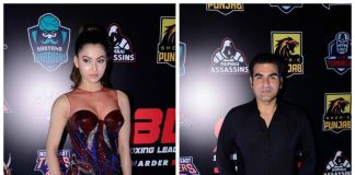 Photos – Urvashi Rautela, Arbaaz Khan dazzle at Super Boxing League 2017 kick off