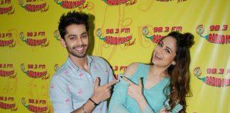 Himansh Kohli, Zoya Afroz promote Sweetiee Weds NRI on Radio Mirchi – Photos