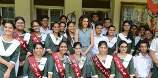 PHOTOS – Taapsee Pannu visits her school in New Delhi!
