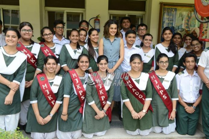 Taapsee school8