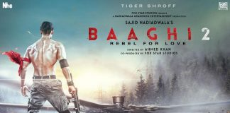 Baaghi 2 Poster – Tiger Shroff makes heads turn with his chiseled body!