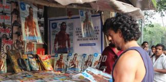 Photos – Tiger Shroff stops to buy GQ magazine featuring him as cover boy!