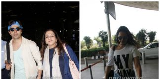 Varun Dhawan and Sonakshi Sinha make a stylish appearance at the airport