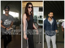 PHOTOS – Sushant Singh, Kriti Sanon, John Abraham add glamour to Mumbai airport!
