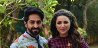 Ayushmann Khurrana, Parineeti Chopra do a fun photoshoot!