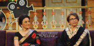 PHOTOS – Iconic divas Asha Parekh and Helen have fun on The Kapil Sharma Show!