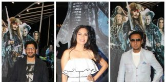 Arshad Warsi hosts special screening of Pirates of The Caribbean – Salazar's Revenge