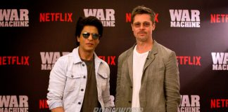 Shah Rukh Khan worries about the future of Bollywood after Brad Pitt visit