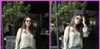 Trendy Aditi Rao Hydari spotted on a day out in the city