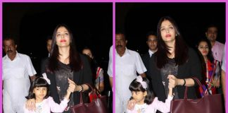 Photos – Aishwarya Rai Bachchan and Aaradhya Bachchan dazzle at the airport!