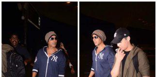 Akshay Kumar and Aarav are a fashionable father-son duo at Mumbai airport