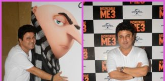 Ali Asgar attends the special screening of Despicable Me 3
