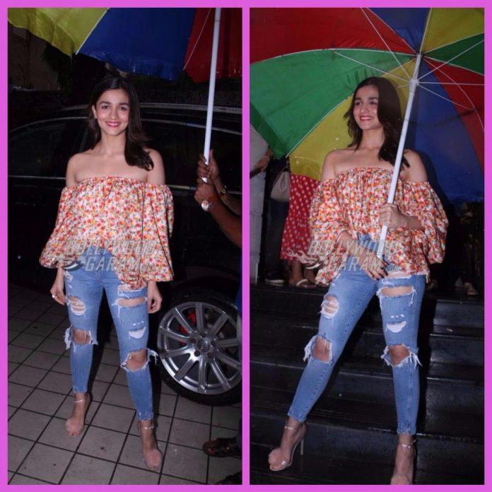 Alia Bhatt snapped