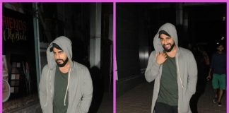 Arjun Kapoor catches a movie at a popular theatre in Mumbai