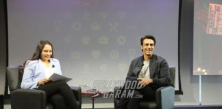 Arjun Rampal launches official trailer of Daddy at Google Headquarters in the US
