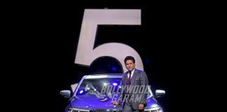 Sachin Tendulkar launches BMW 5 Series at an exclusive event