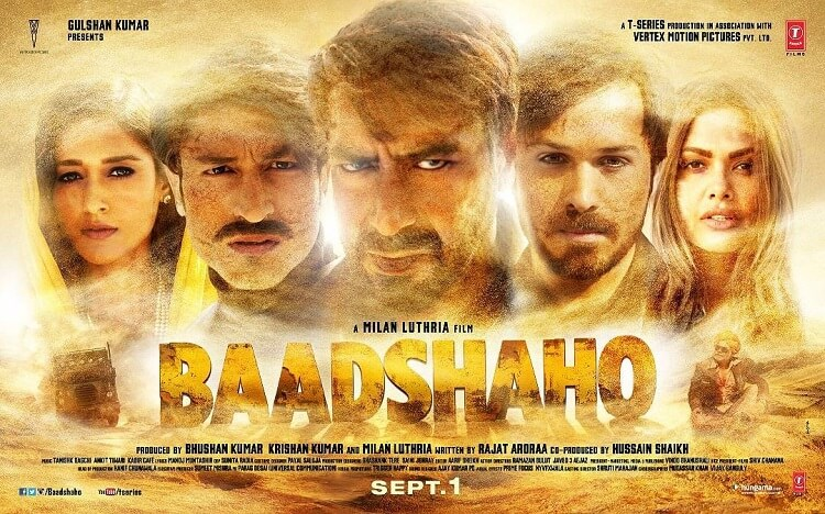 Ajay Devgn, team 'Baadshaho' pack a punch in gripping teaser