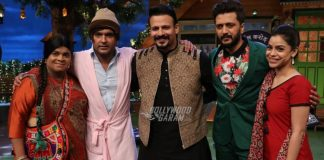 Photos – Riteish Deshmukh and Vivek Oberoi promote Bank Chor on the sets of The Kapil Sharma Show