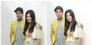Shruti Haasan and Rajkumar Rao promote 'Behen Hogi Teri' in Delhi