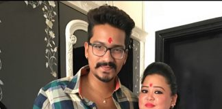 Bharti Singh shares a picture with Harsh Limbachiyaa from their roka!
