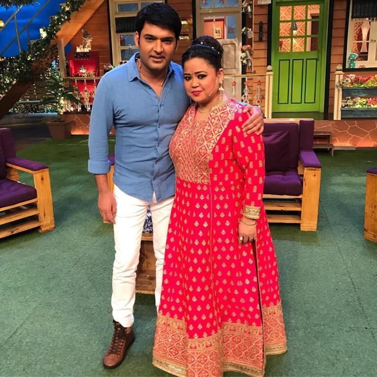 Bharti Singh celebrates her birthday on The Kapil Sharma Show - view pics