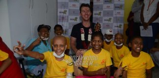Brett Lee promotes effective music therapy for cancer afflicted children