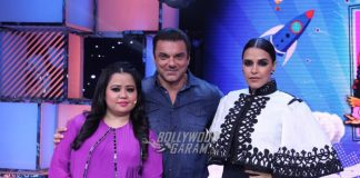 Neha Dhupia and Sohail Khan have fun with contestants of Chhote Miyan Dhaakad