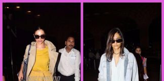 Sonam Kapoor and Deepika Padukone make a stylish appearance at the airport