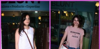 Dia Mirza and Prachi Desai get a gorgeous make-over at BBlunt salon