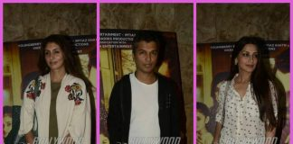 Bollywood celebrities grace screening of Marathi film Hrudayantar – Photos