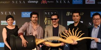 Saif Ali Khan, Varun Dhawan and Karan Johar have fun at IIFA press event