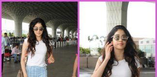 Jhanvi Kapoor is laid back fashion goals at Mumbai airport