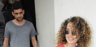 Kangana Ranaut spends the afternoon with brother Akshat at PVR – Photos!