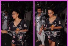 Karan Singh Grover and Bipasha Basu photographed in the city
