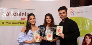 Karan Johar and Mira Rajput launch Pooja Makhija's book Eat Delete Junior