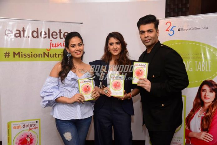 Karan mira book launch -2