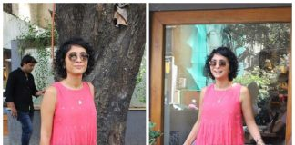 Kiran Rao beats the summer heat on a day out in the city – Photos