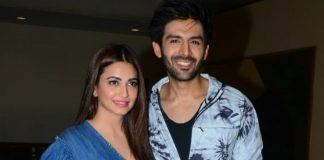 Photos – Kartik Aaryan and Kriti Kharbanda promote Guest Iin London in style!