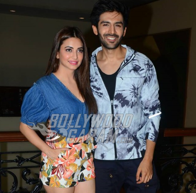Kriti Kharbanda and kartik Aaryan