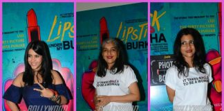 Konkana Sen Sharma, Ratna Pathak Shah promote Lipstick Under My Burkha – Photos