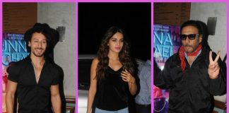 PHOTOS – Tiger Shroff, Nidhhi Agerwal and others spotted at Munna Michael wrap up bash!